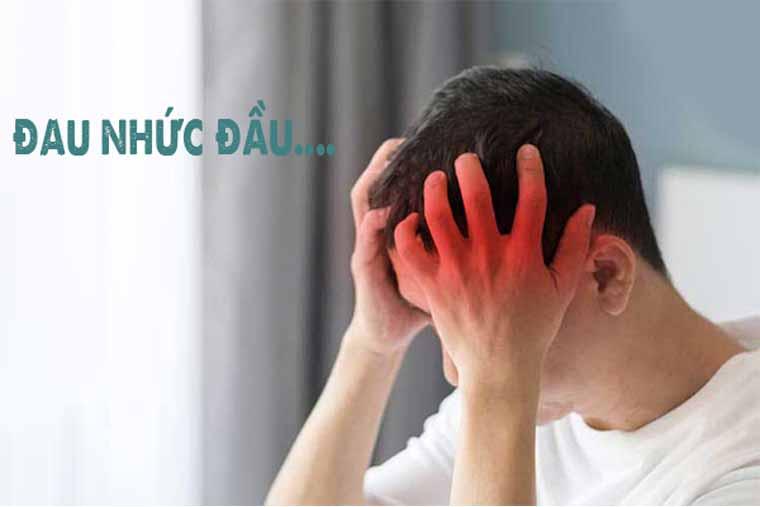 Đau nhức đầu, khó chịu là các triệu chứng viêm xoang sàng điển hình