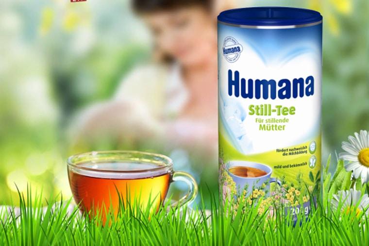 Cốm lợi sữa humana