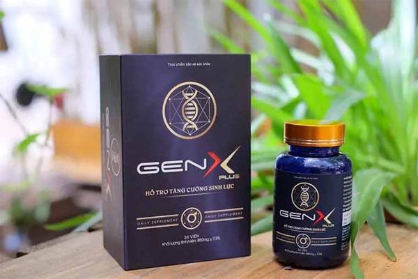 Thực phẩm chứ năng Gen X Plus