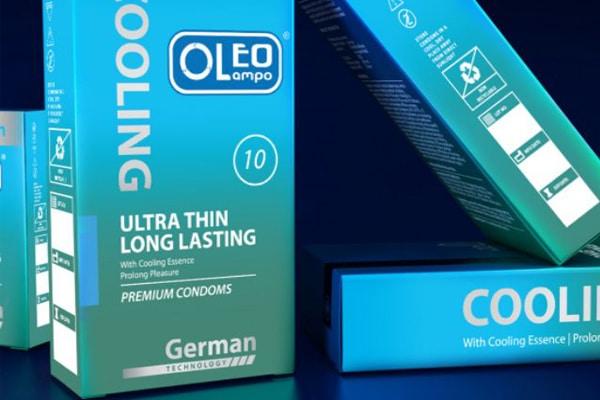Bao cao su Oleo Cooling Ultra Thin Long Lasting