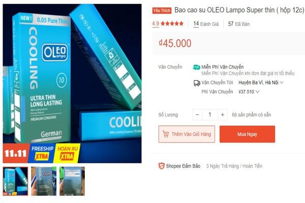 Giá bao su Oleo