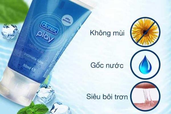 Đặc điểm Gel Durex Play