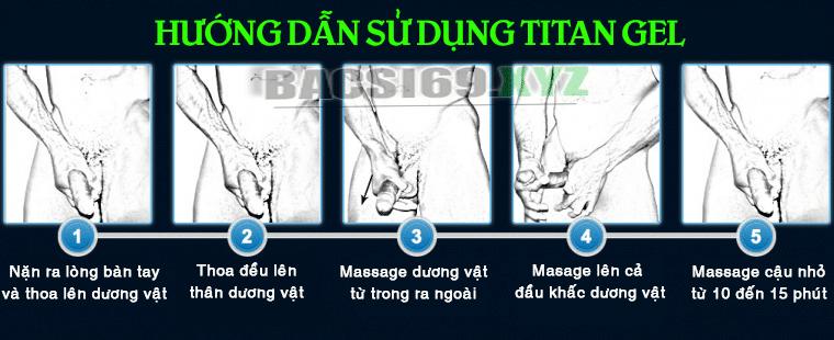 Cách sử dụng gel Titan Gold
