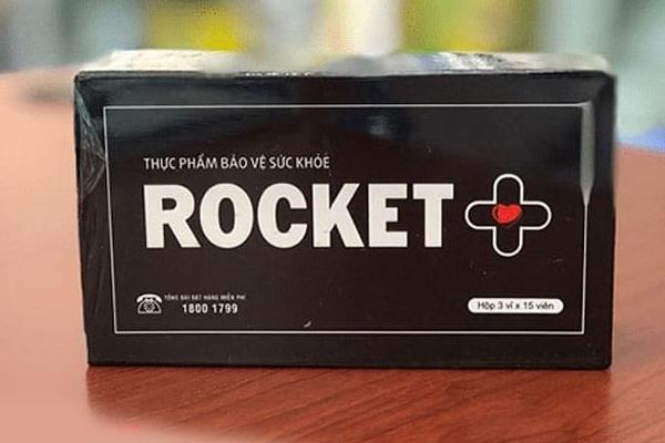 Hình ảnh viên uống rocket plus