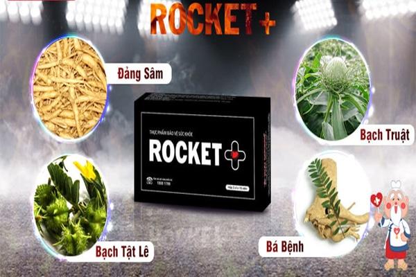Các thành phần có trong viên uống rocket +