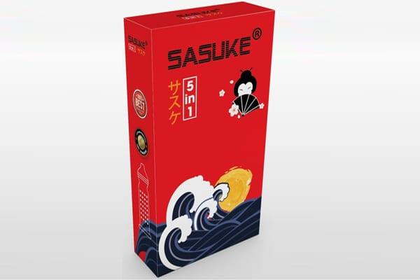 Bao cao su Sasuke 5 in 1