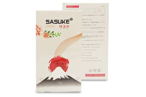 Bao cao su Sasuke Vanilla