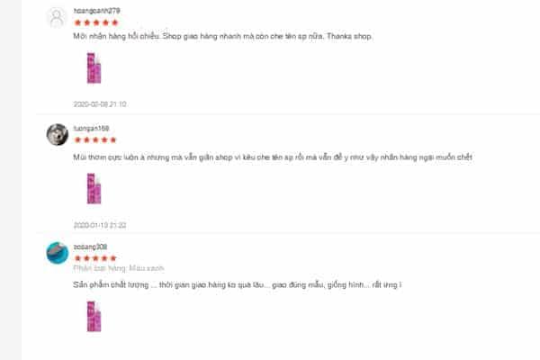 review về nước hoa Lure từ những người đã từng sử dụng
