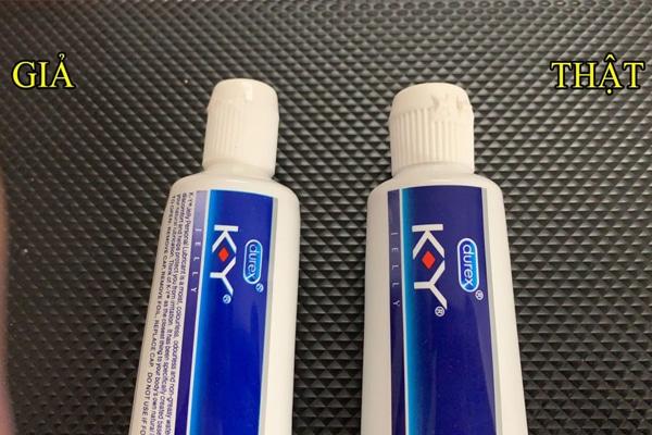 Cách phân biệt sản phẩm gel bôi trơn KY chính hãng