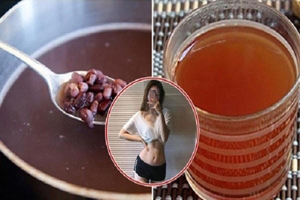 Nước đậu đỏ giúp giảm cân, giữ dáng