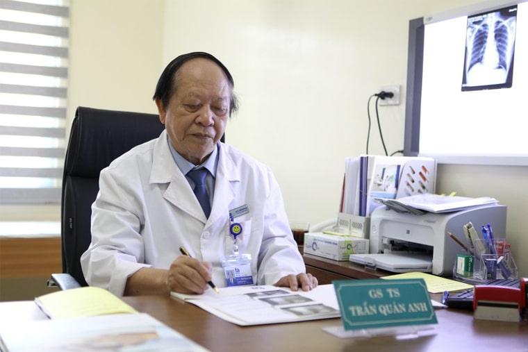 Bác sĩ làm việc tại khoa Tiết niệu - Nam học