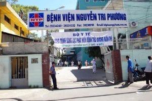 Bệnh viện Nguyễn Tri Phương trung tâm y tế lớn được đông đảo người dân biết đến