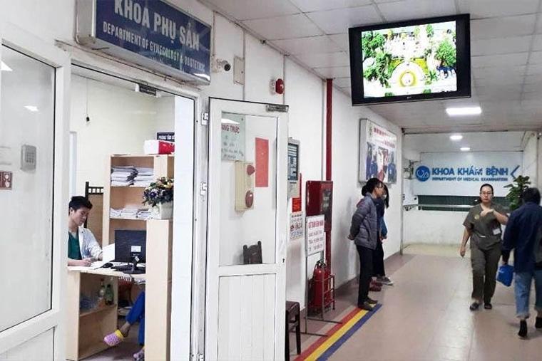 Bệnh viện có 44 khoa phòng, đơn nguyên
