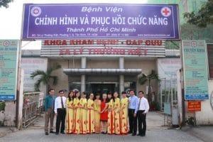 Bệnh viện tọa lạc tại số 1A, Lý Thường Kiệt, phường 7, quận Tân Bình, thành phố Hồ Chí Minh