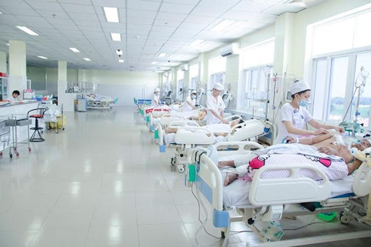 Khoa cấp cứu có đầy đủ máy móc trang thiết bị cần thiết