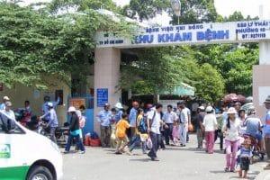 Khoa khám bệnh bệnh viện Nhi Đồng 1 thành phố Hồ Chí Minh