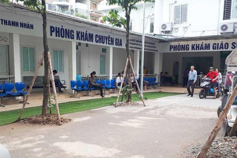 Khoa khám bệnh theo yêu cầu nằm ngay trên đường Thanh Nhàn
