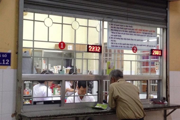 Phòng cấp phát thuốc của bệnh viện
