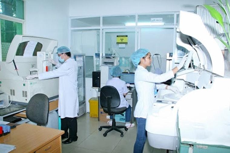 Phòng xét nghiệm chất lượng cao