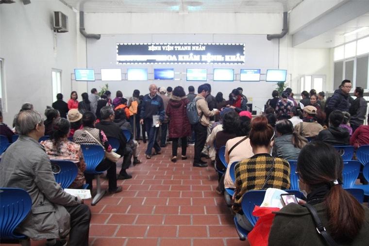 Viện Thanh Nhàn đáp ứng nhu cầu khám chữa bệnh của hàng trăm người 1 ngày