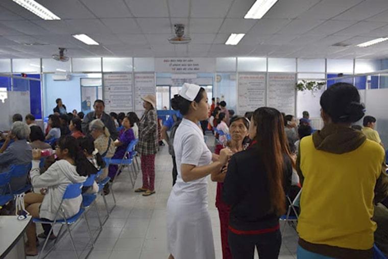 Bệnh viện quận Bình Thạnh có rất nhiều chuyên khoa khác nhau