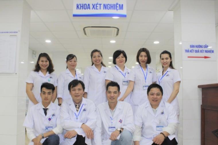 Bác sĩ Khoa xét nghiệm