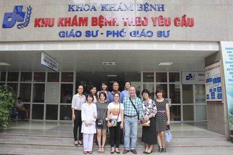 Viện Da liễu Hà Nội làm việc cả thứ 7, chủ nhật