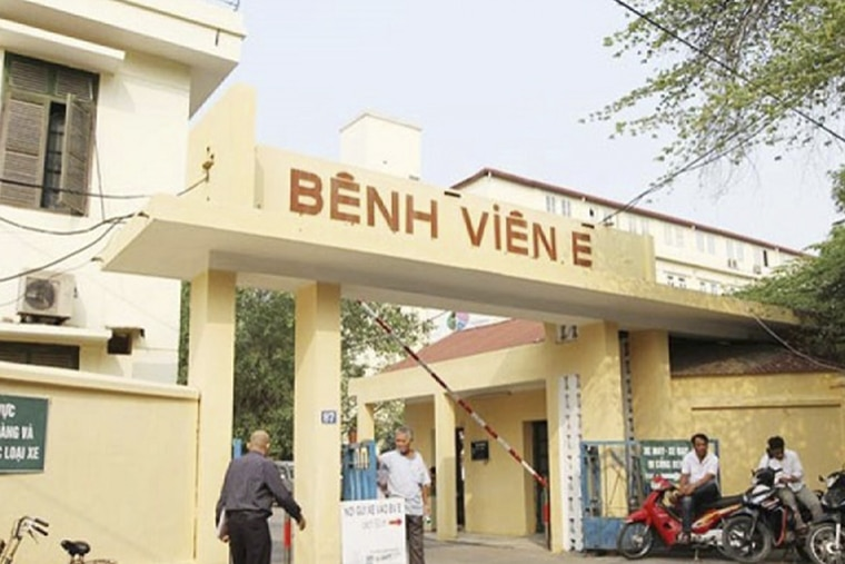 Cổng bệnh viện E đa khoa