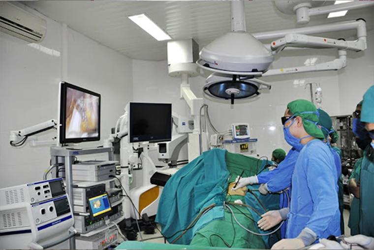 Phòng khám tim mạch với đầy đủ những trang thiết bị y học tiên tiến hiện đại