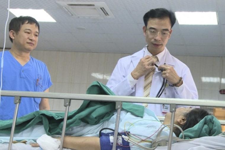 Bệnh viện đã điều trị cho nhiều ca bệnh khó