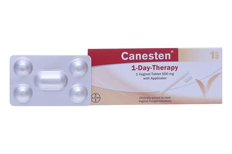 Thuốc Canesten 500mg trị nấm âm đạo hiệu quả nhờ hoạt chất Clotrimazol