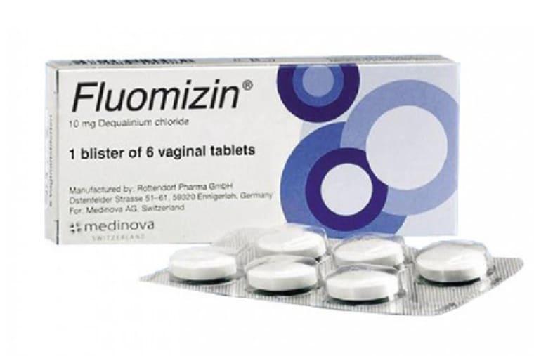 Thuốc đặt phụ khoa Fluomizin 10mg