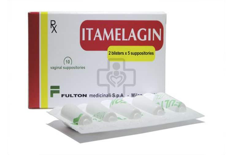 Itamelagin là dạng thuốc đặt, được sản xuất bởi công ty Fulton Medicinali S.P.A Ý
