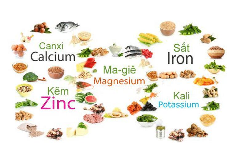 Thực phẩm giàu nguyên tố vi lượng