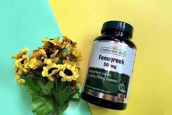Viên uống lợi sữa Fenugreek đem đến những cải thiện tích cực cho tuyến sữa