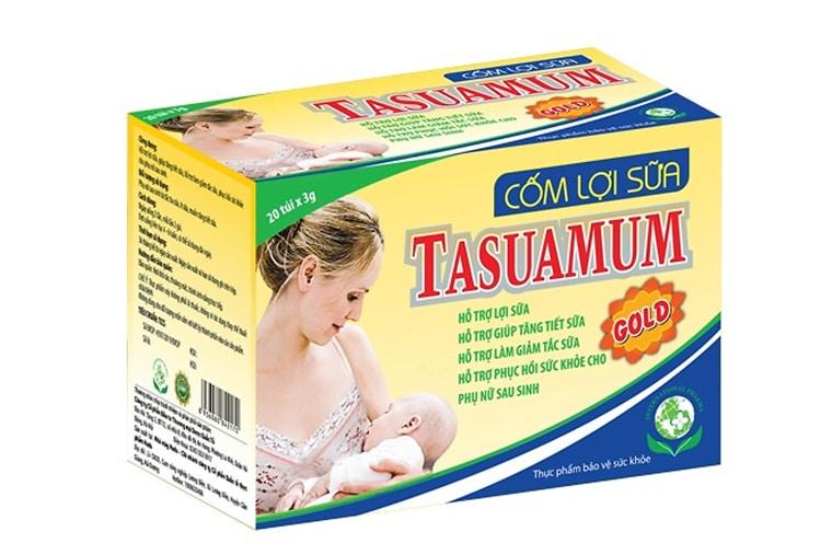 Sản phẩm Tasuamum giúp mẹ có đủ sữa cho bé yêu bú
