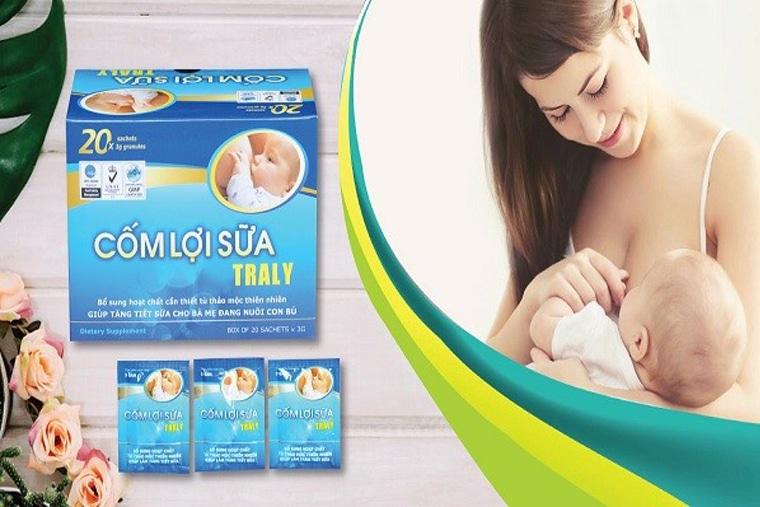 Traly giúp trẻ có được bầu sữa tốt nhất cho sự phát triển