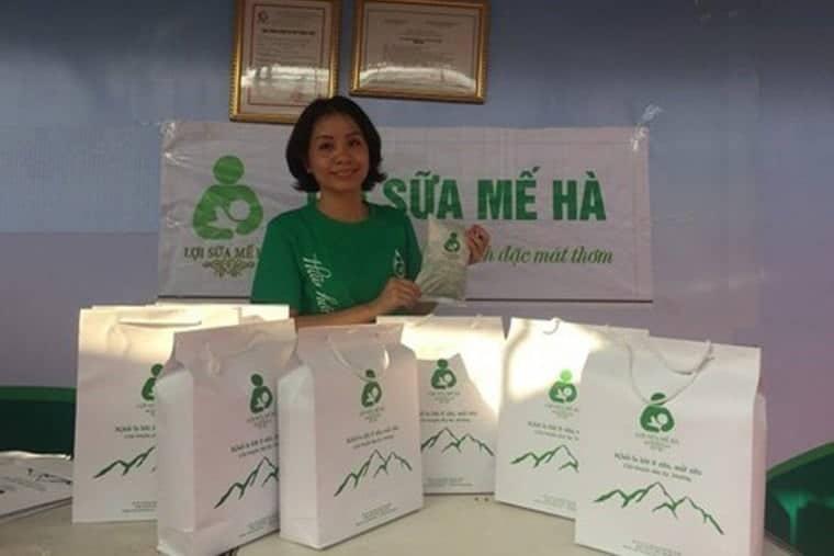 Lợi sữa Mế Hà có nguồn gốc tự nhiên được nhiều mẹ Việt tin dùng