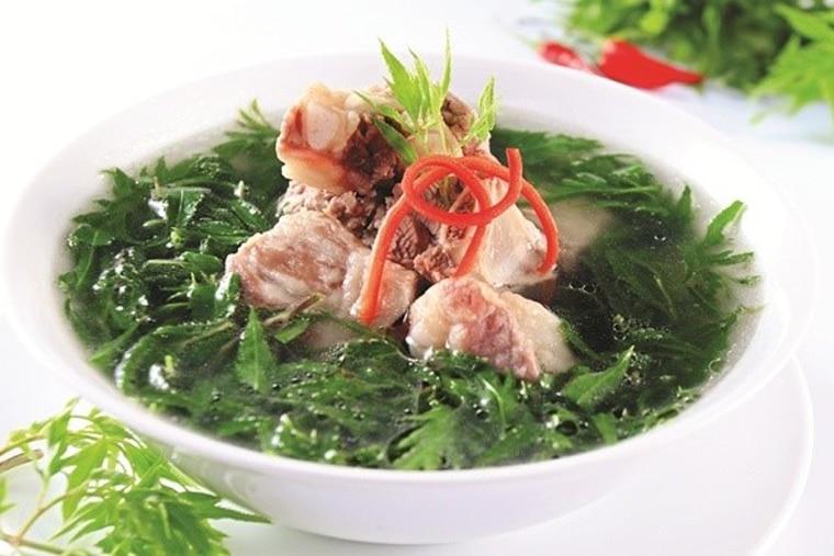 Các món ăn ngon từ lá Đinh Lăng
