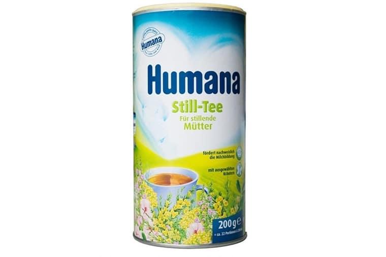 Trà lợi sữa Humana