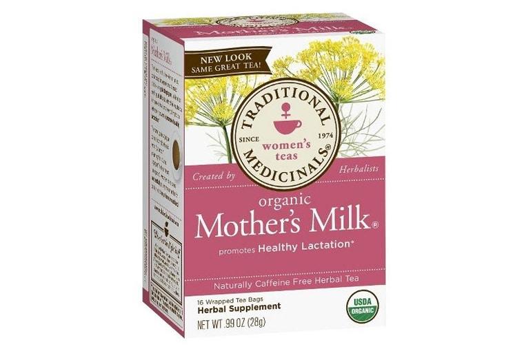 Trà Organic mother's milk được nhiều mẹ tin dùng hiện nay