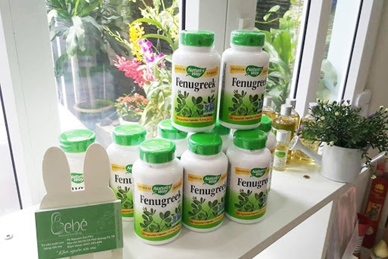 Viên uống lợi sữa Fenugreek Seed