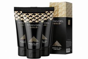 Gel cường dương Titan Gold sở hữu công thức đặc biệt giúp tăng kích cỡ dương vật hiệu quả