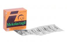 Thuốc lợi sữa Mekolactagil hộp 2 vỉ x 10 viên