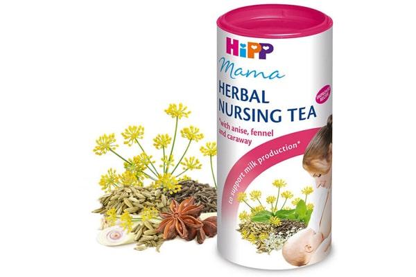 Thành phần của cốm lợi sữa Hipp là các thảo dược thiên nhiên