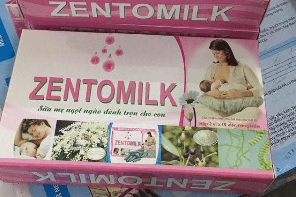 Viên uống zentomilk được đánh giá tốt về chất lượng, độ an toàn
