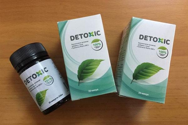 Thuốc Detoxic có tác dụng chữa hôi miệng và tiêu diệt ký sinh trùng, giúp làm sạch cơ thể