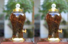 Sử dụng lá sâm Ngọc Linh để ngâm rượu uống hàng ngày