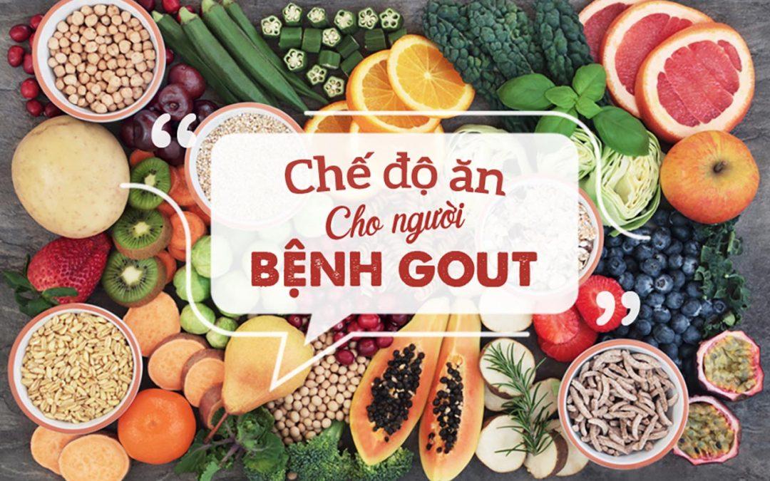 chế độ ăn cho người bị bệnh Gout