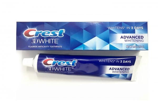 Kem đánh răng Crest 3D White Advanced Whitening
